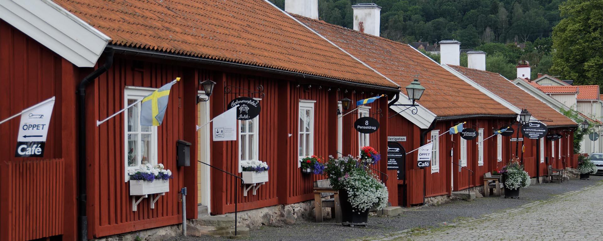 Rumah tradisional Swedia